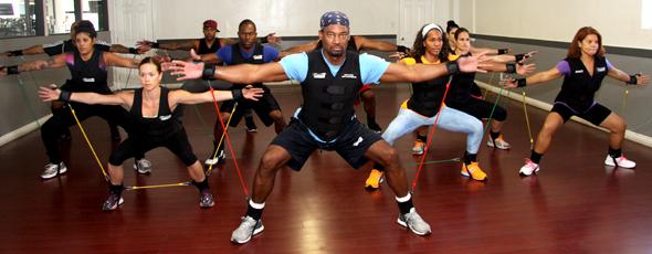 Cardio Bandz Fitness Class